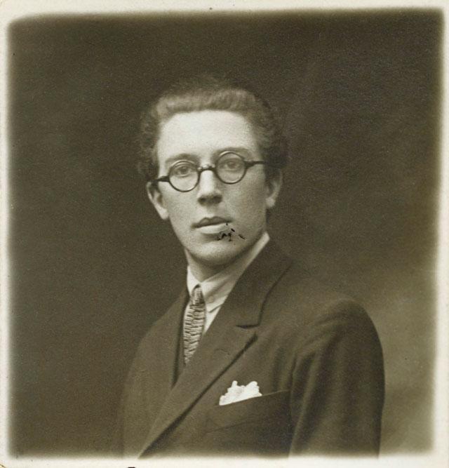 André Breton, portrait anonyme © Bibliothèque Jacques Doucet