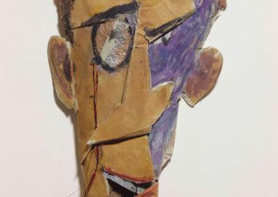 Marcel Janco, Portrait de Tzara en masque © Centre Pompidou, MNAM-CCI, RMN-Grand Palais © Adagp