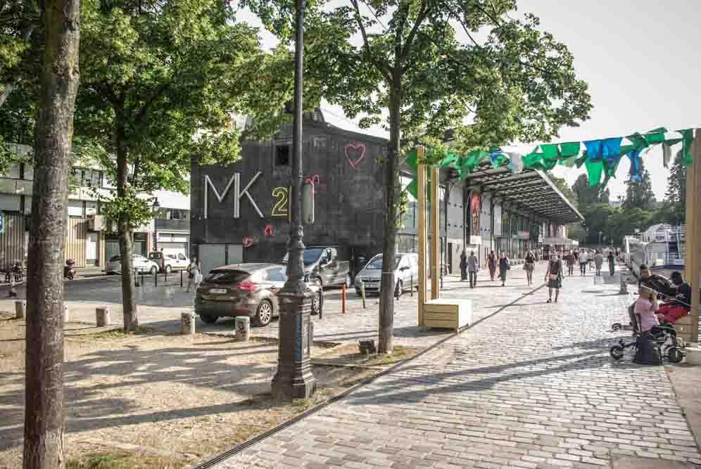 Le bâtiment du MK2 quai de Seine @J.Barret