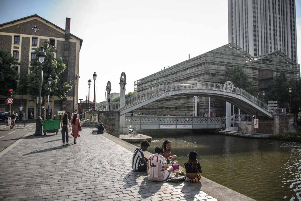 Parcours poétique et artistique au fil de l'Ourcq