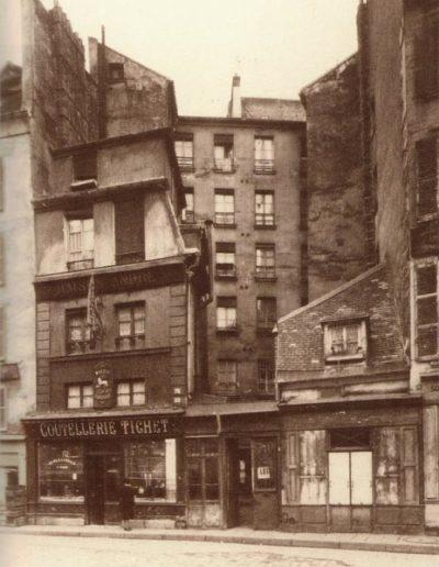L'immeuble du 32 rue Léopold-Bellan en 1942 @Fonds Arsenal – Parimagine