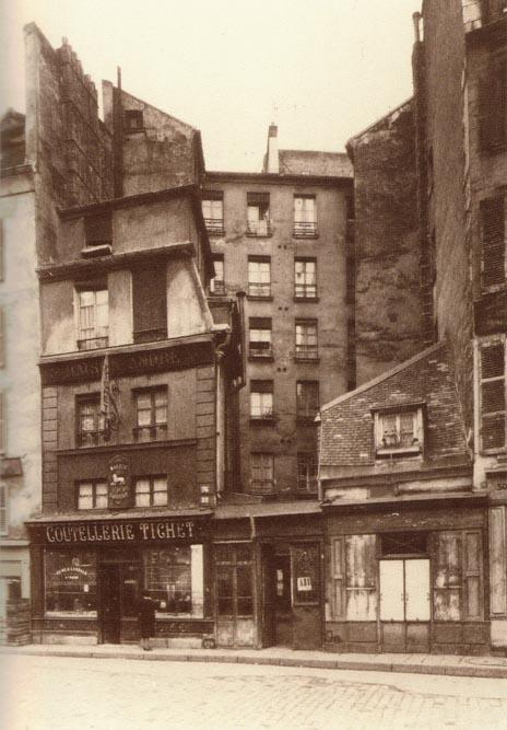 L'ancienne coutellerie de la rue Léopold-Bellan