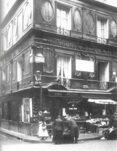 Au Rocher de Cancale photographié vers 1900 @Parimagine