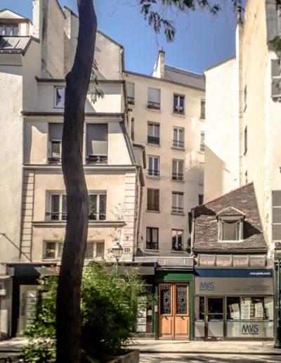 L'immeuble du 32 rue Léopold-Bellan pris en juillet 2021 @J.Barret